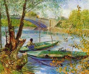 Винсент Ван Гог - Рыбалка весной - заказать картину