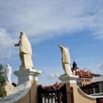 Статуи Тринитарского костёла