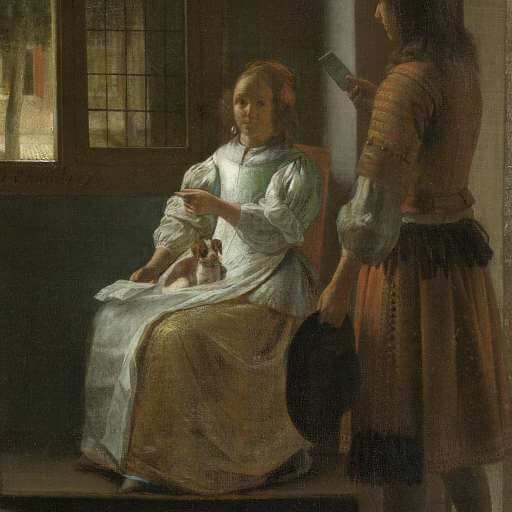 346 year old painting reveals iphone