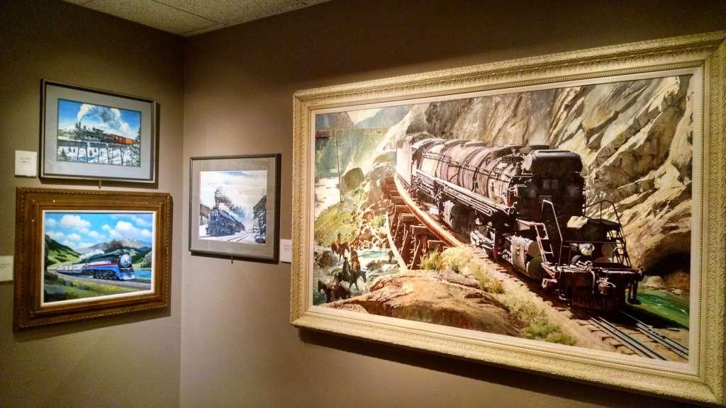 Howard Fogg trains