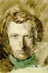 john-ruskin-watercolor-selfportrait