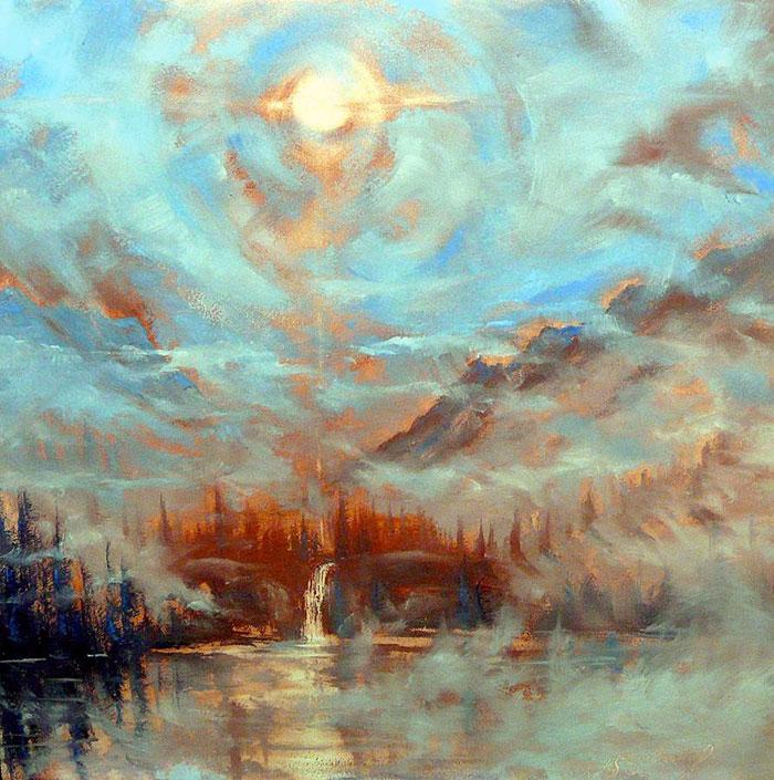 Earth Light Series by Len Sodenkamp, Boise, Idaho, USA