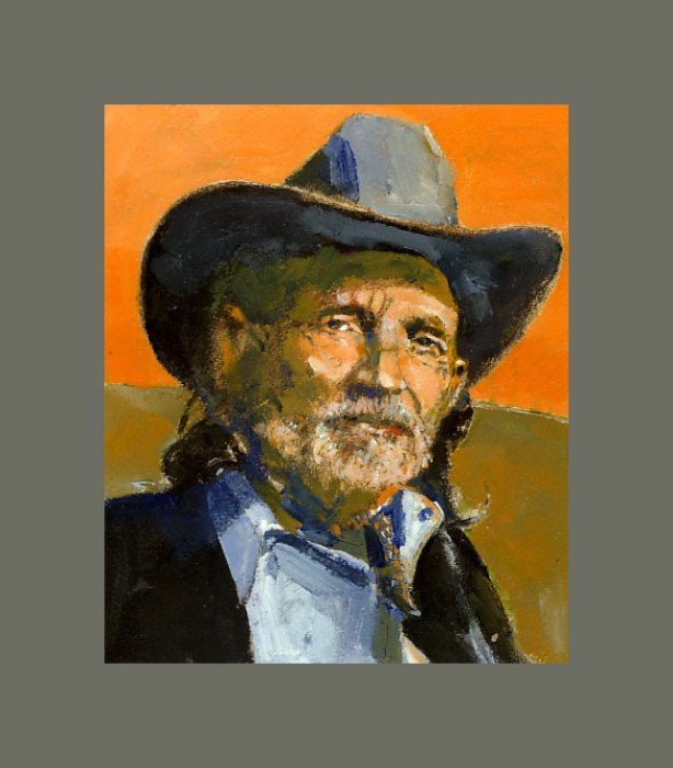 'Willie Nelson by Jerry Kalback, Cleveland, Ohio, USA