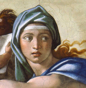 Michelangelo_Delphic-Sibyl(detail)