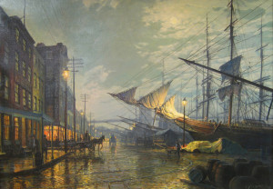 john-stobart_Waiting-for-the-Tide20x28