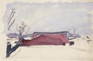owen-merton_snow-scene-long-island_1919
