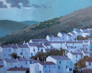 RG_Village-Below-the-Olives_24x30