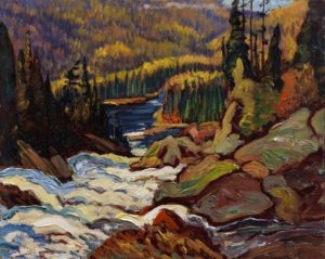 jeh-macdonald_falls-montreal-river_sketch-c-1920