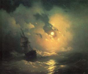 Ivan-Aivazovsky_Stormy-Sea-at-Night