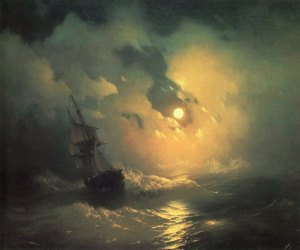 Ivan-Aivazovsky_Stormy-Sea-at-Night