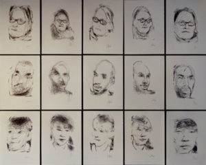 patrick-tresset_5-robots-named-paul_drawings