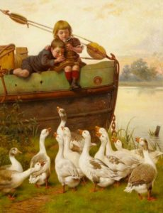 william-weekes_taunting-the-geese