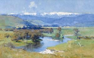 arthur-streeton_The-Murray-and-the-Mountain_1930