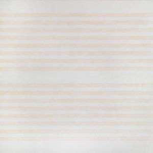 I Love the Whole World, 1999 1524 x 1524 mm, Acrylic paint and graphite on canvas by Agnes Martin (1912-2004)