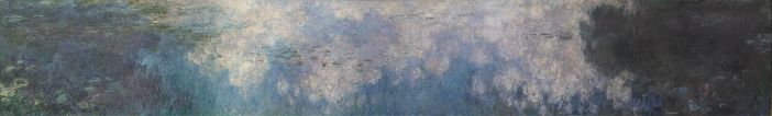The Water Lilies - The Clouds, 1920–1926 by Claude Monet Musée de l'Orangerie, Paris
