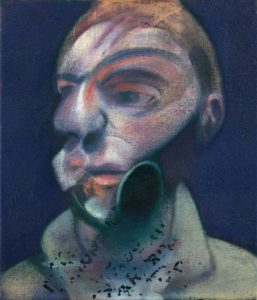 Self-Portrait, 1975 oil on canvas by Francis Bacon