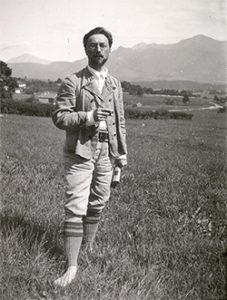 Kandinsky in Murnau, 1909 Gabriele Münter and Johannes Eichner Stiftung,photo
