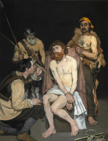 Édouard_Manet_-_Jesus_Mocked_by_the_Soldiers_-_Google_Art_Project