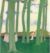 Landscape with Green Trees_Maurice Denis_1893_Oil on canvas_46x43
