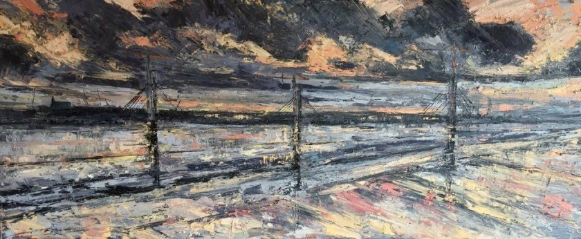 Shaumn Smyth painting -with painters TUBES magazine