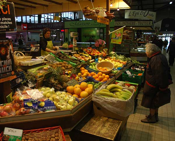 Image of Narbonne market stall