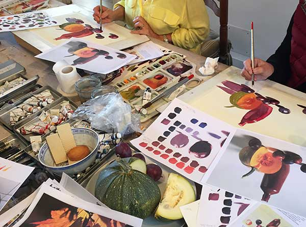 painting workshops in the south of france