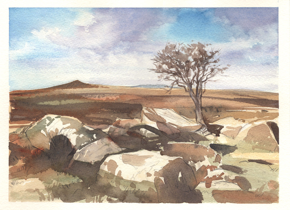 dartmoor simon roberts painting in france