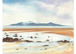 kilbride bay simon roberts painting in france