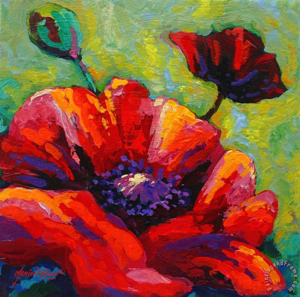 Vincent Van Gogh Poppy Flower Painting