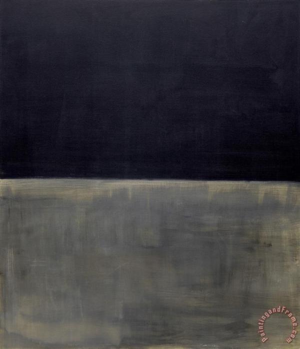 Mark Rothko Untitled (black on Gray) painting - Untitled ...