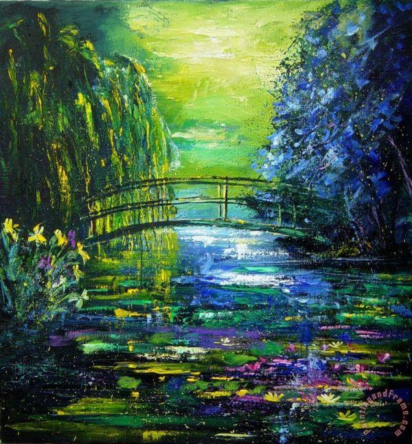 Pol Ledent After Monet painting - After Monet print for sale