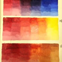 Color Charts in Oil