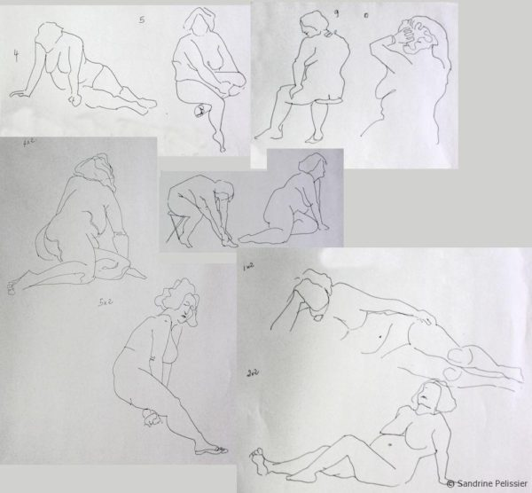 1 minute poses small size