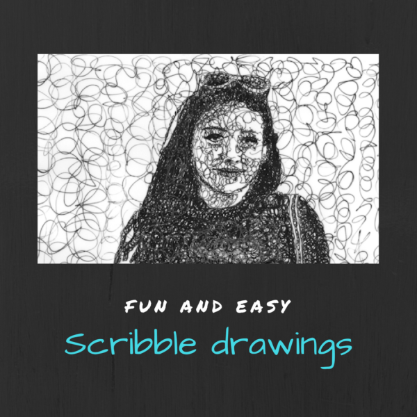 Fun and easy : Scribble drawings