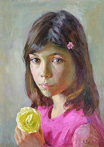 Masha portrait or figure -  painting