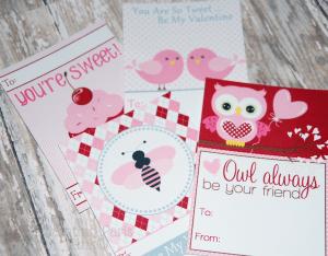 Valentine Cards Free Printable