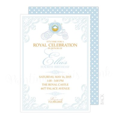 Royal Princess Back Design