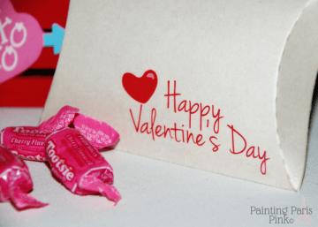 Valentine Kraft Pillow Box 2