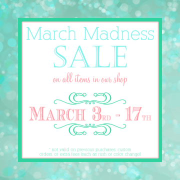 March madness sale 5x5 PNG