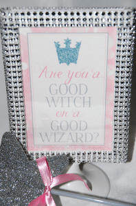 Glinda Good Witch Sign
