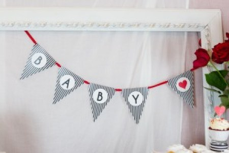 Baby Shower Love Banner