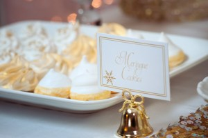 Dreaming of a White Christmas Meringue Cookies