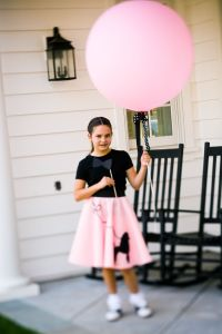 Pink Poodle Skirt Party