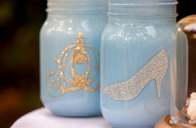 Mason Jars - Cinderella