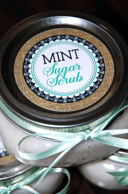 Mint Sugar Scrub 2