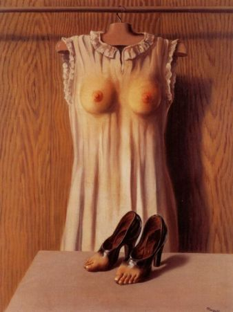 Рене Магритт, картина Философия будуара