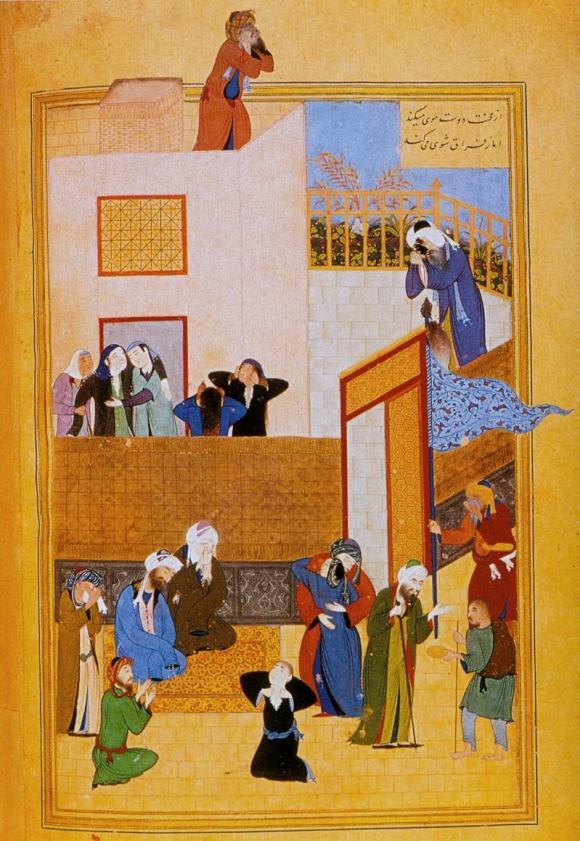 Бехзад. Похороны Ибн Салама