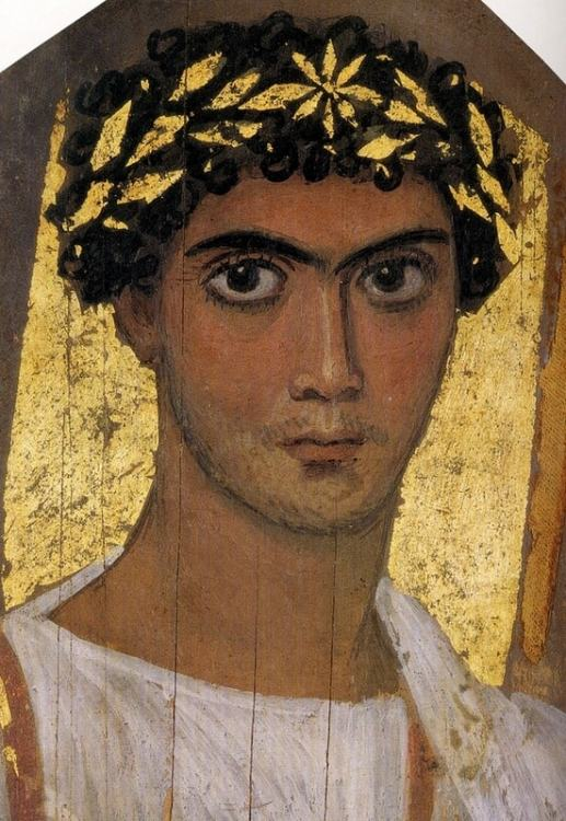 Фаюмский портрет, грек