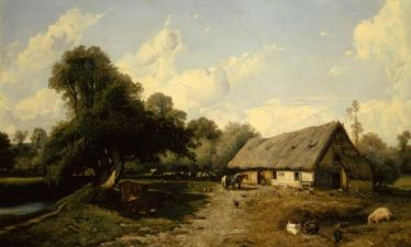 Жюль Дюпре, Скотный двор