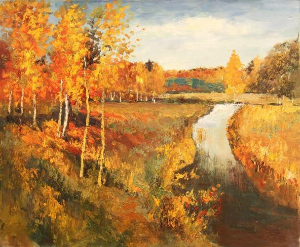 Левитан, Золотая осень